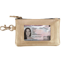 Scout Bags idkase card holder- metallic gold