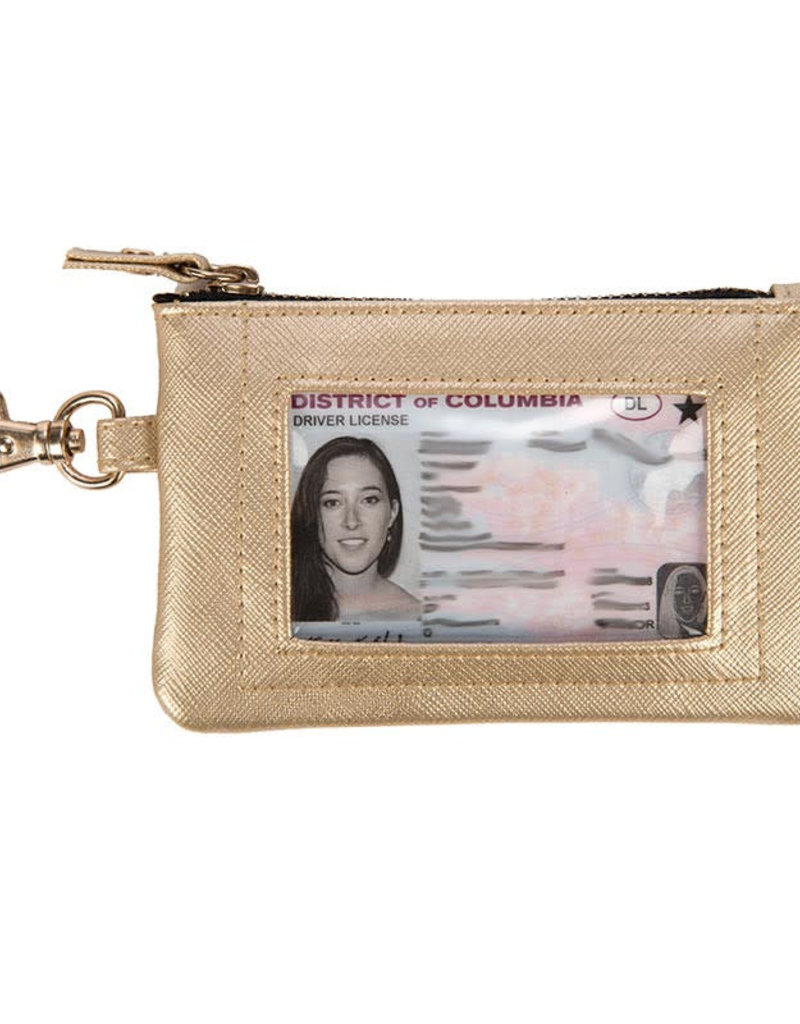 Scout Bags idkase card holder- metallic gold