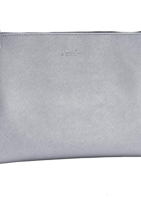 Scout Bags golden girl pouch- metallic silver