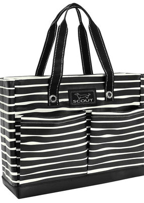 Scout Bags uptown girl pocket tote bag- ren noir