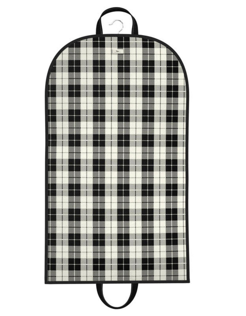 Scout Bags gown and out garment bag- plaid habit