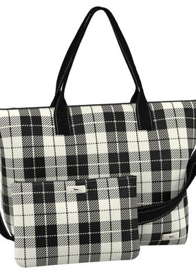 Scout Bags overpacker foldable travel bag- plaid habit