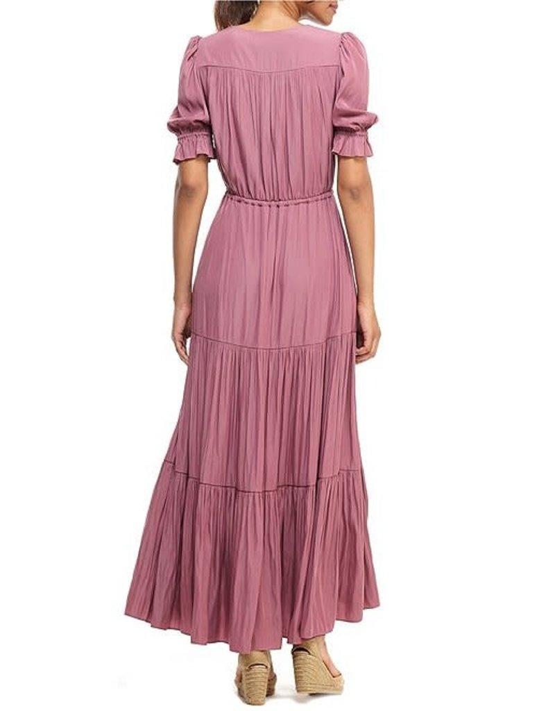 Gal Meets Glam Dahlia Elderberry Dress