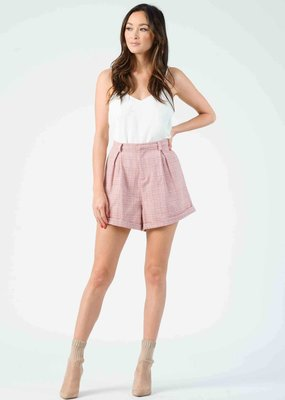 Lucca Polly Plaid Shorts