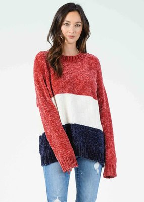 Lucca Ted Colorblock Sweater