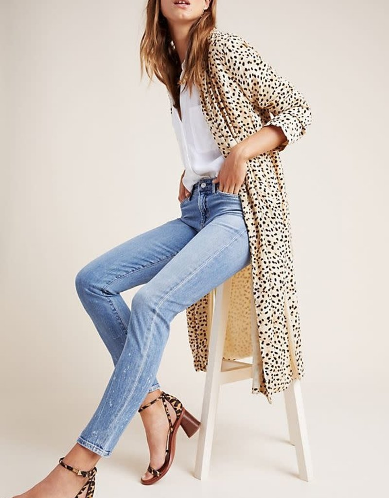 Cupcakes and Cashmere Cheetah Duster