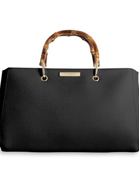 Katie Loxton Avery Bamboo Handbag Black
