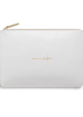 Katie Loxton Perfect Pouch One in a Million Pale Grey