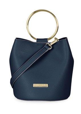 Katie Loxton Suki Bucket Bag Navy