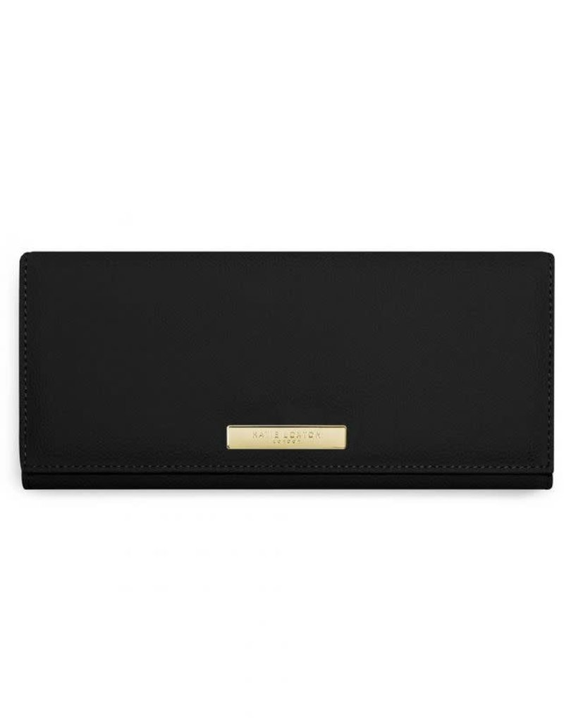 Katie Loxton Soft Pebble Jewelry Roll Black