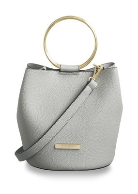 Katie Loxton Suki Bucket Bag Pale Grey