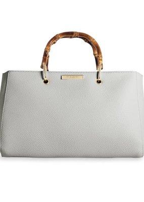 Katie Loxton Avery Bamboo Handbag Grey