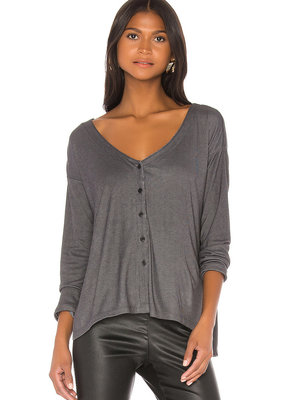 Cupcakes and Cashmere Lindy Faded Black Top