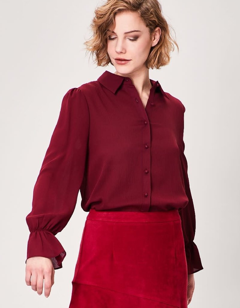 Soule Burgundy Blouse