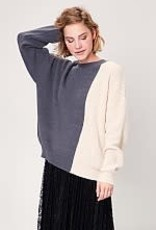 Toney Block Knit