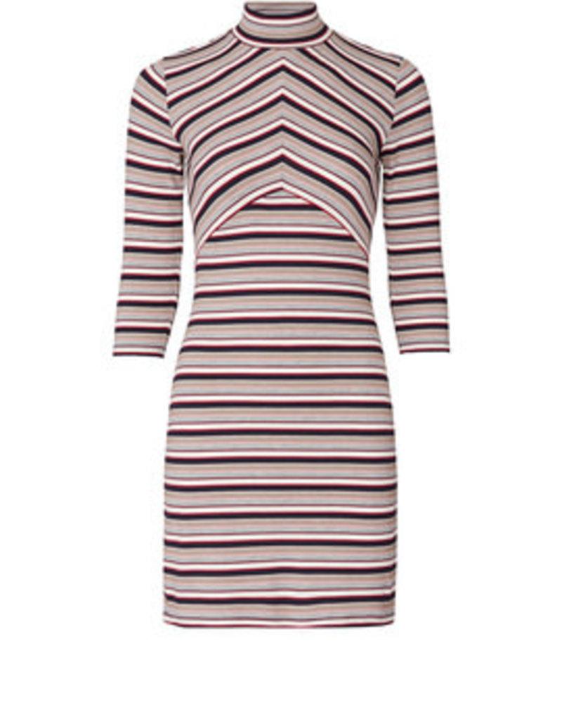 Mink Pink Jessa Contrast Mini Dress Mini