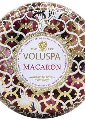 Voluspa Macaron 2 Wick Maison Metallo Candle