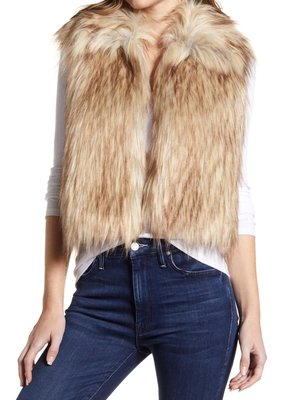 Cupcakes and Cashmere Jackie Fur Vest