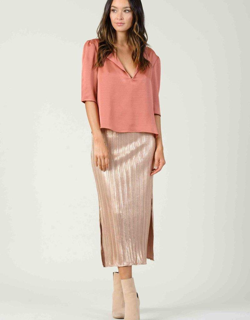 Lucca Arneis Midi Skirt