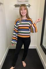 Glamorous Janet Stripe Sweater