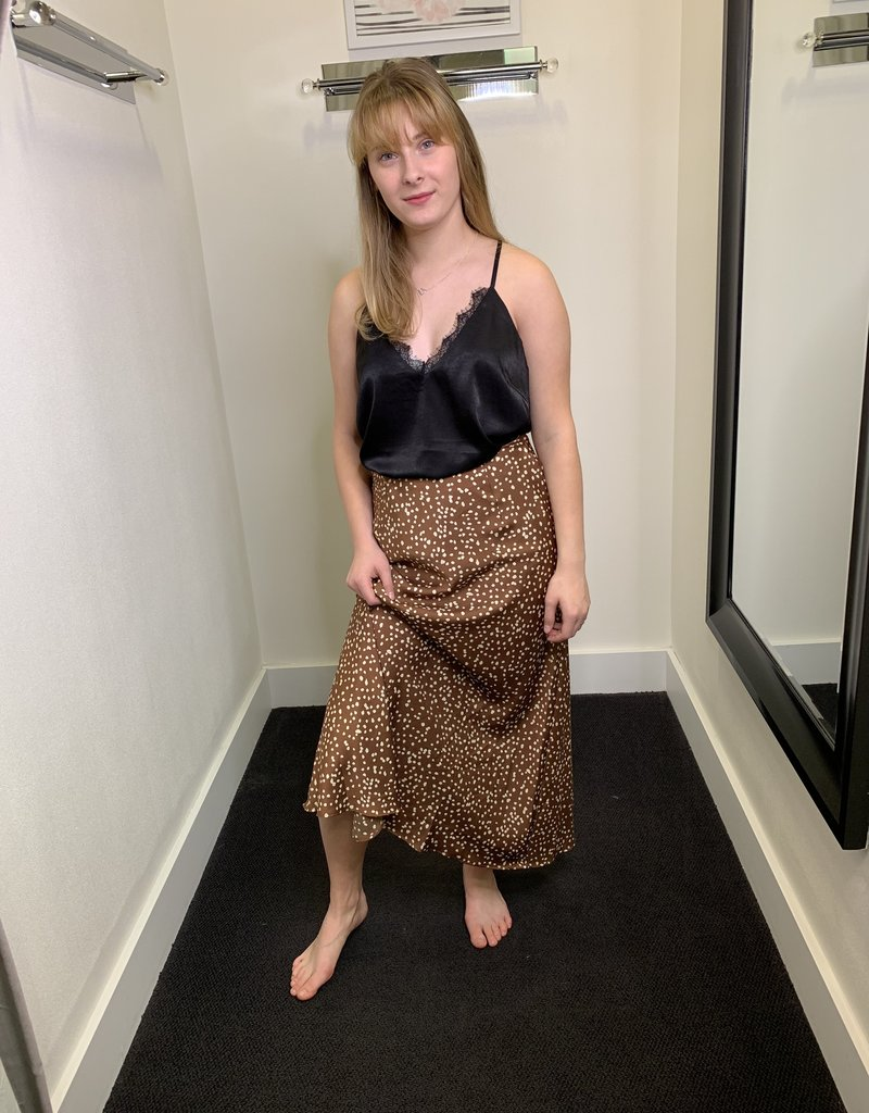 Glamorous Chelsea Spot Skirt