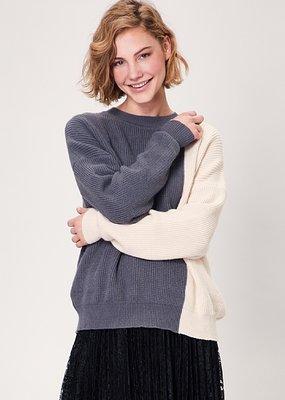 Toney Block Knit