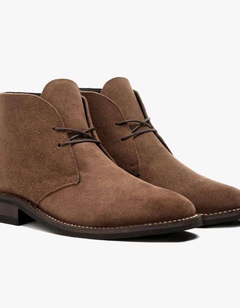 Thursday Boots Cognac Suede