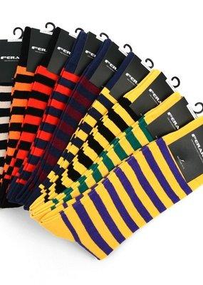 Selini College Striped Socks