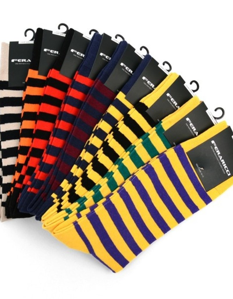 Selini College Striped Socks