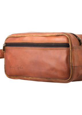 Johnny Fly Leather Dopp Kit