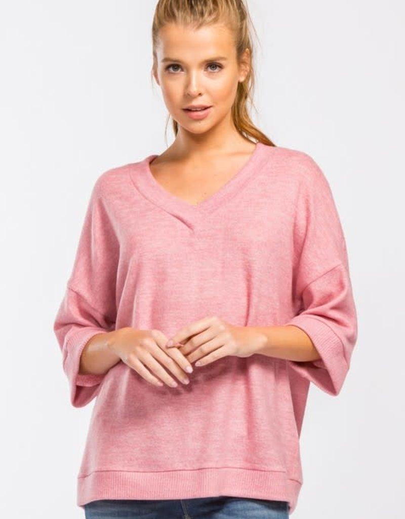 Kenzington Alley Penelope pink Top