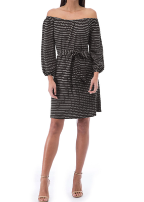 Bobeau Gertrude Stripe Dress