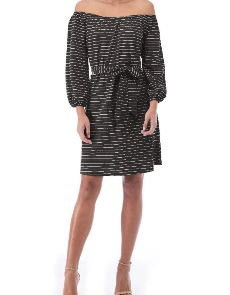 Bobeau Gertrude Stripe Dress