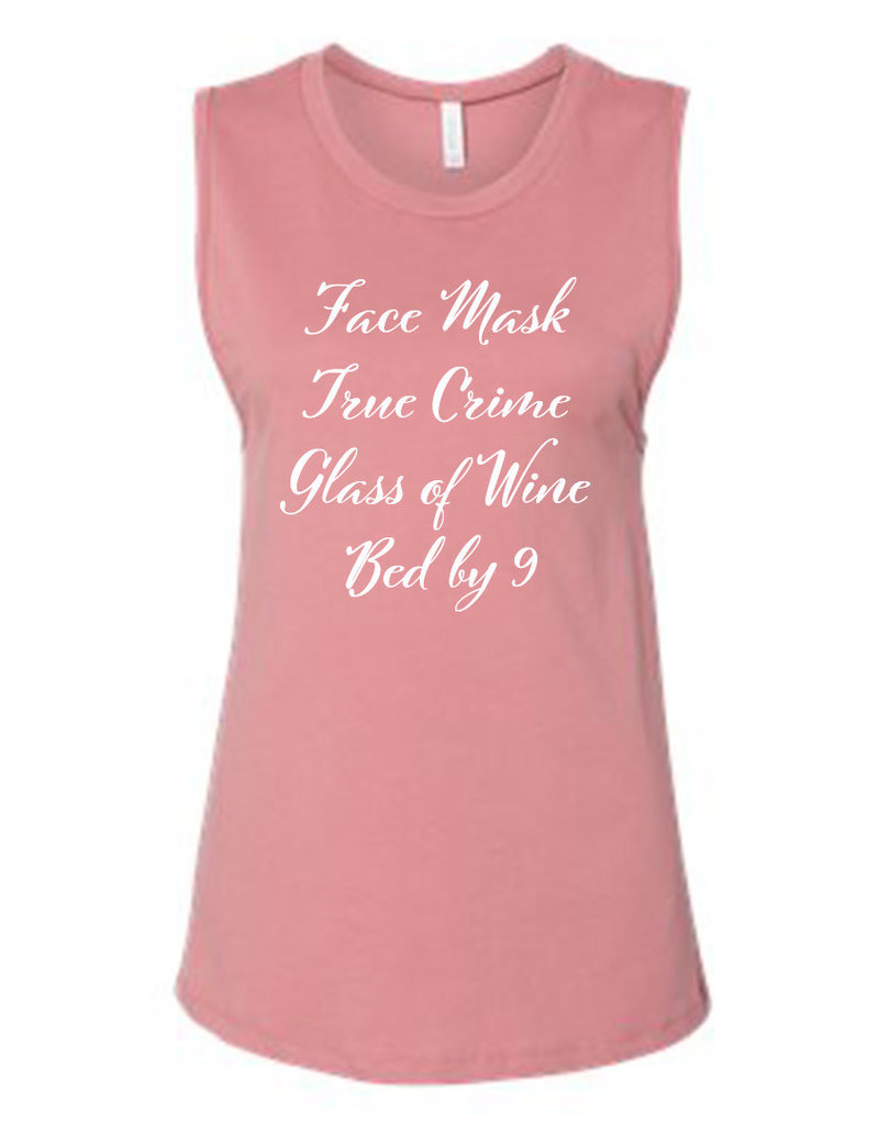 Kenzington Alley Face Mask, Crime, WIne, Bed by 9 Tank