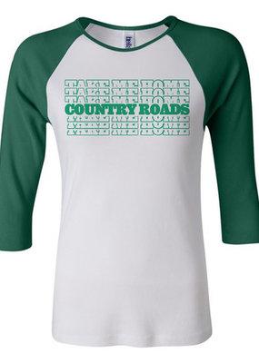 Kenzington Alley Take Me Home, Country Roads Baseball T-Shirt