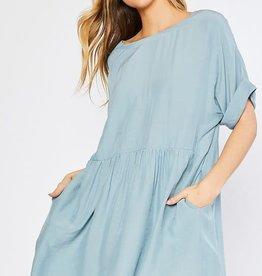 Kenzington Alley Button Babydoll Dress
