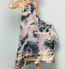 Kenzington Alley Tie Dye Maxi Dress