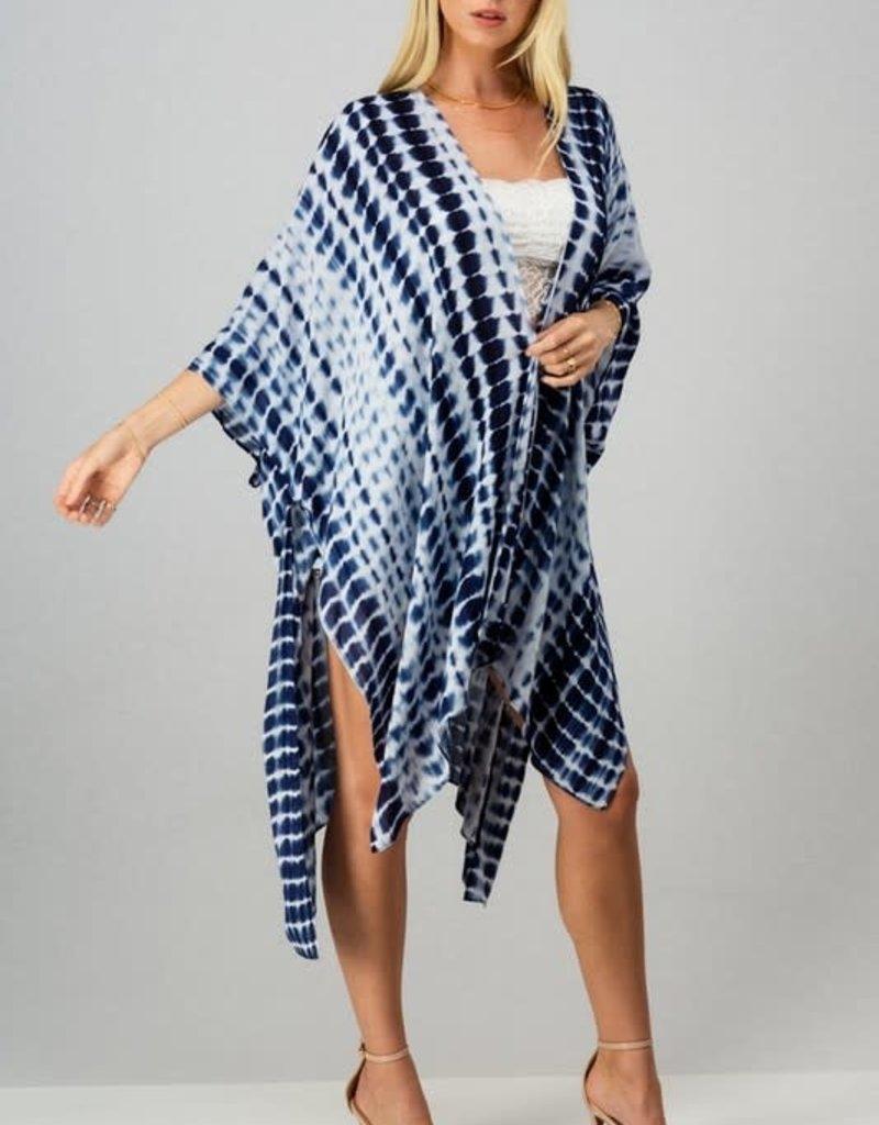 Kenzington Alley Tie Dye Kimono Cardigan