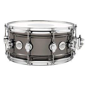 DW DW Design 5.5x14 Black Nickel Over Brass Snare Drum