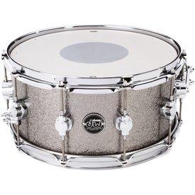 DW DW Performance Series 6.5x14 Snare Drum in Titanium Sparkle