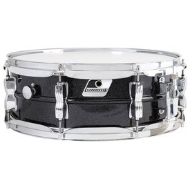 Ludwig Used Ludwig Acrolite 5x14, Black Galaxy finish
