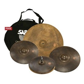 "Sabian Sabian XSR Monarch Set, 15"" Hats, 17"" Crash, 19"" Crash, 22"" Ride"