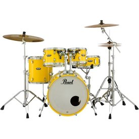 Pearl Pearl Decade Maple 5 Piece Shell Pack in Solid Yellow Finish