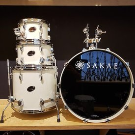 Sakae Sakae Almighty Birch 4 Piece Shell Pack in Vintage White