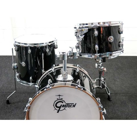 Gretsch Catalina Club Classic 3 Piece Shell Pack in Piano Black Finish