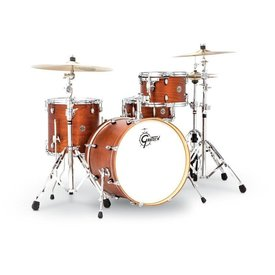 Gretsch Gretsch Catalina Club Jazz 4 Piece Shell Pack in Satin Walnut Glaze