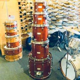 Mapex Used Mapex Saturn 5pc Drum Kit in Transparent Walnut Glaze