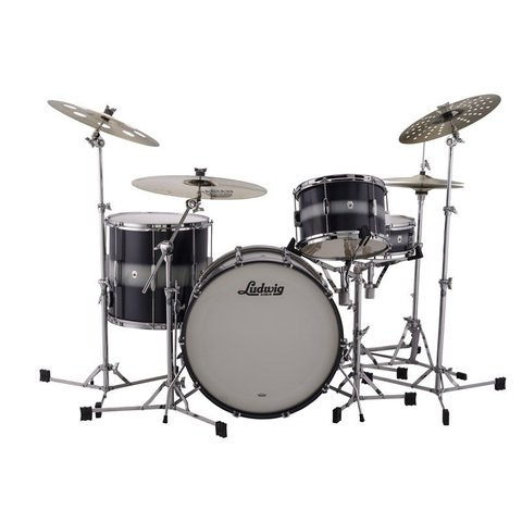 Ludwig Club-Date FAB Configuration  in Blue Silver Duco