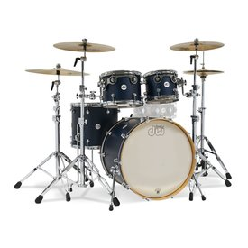 "DW DW Limited Edition ""Black Friday"" Satin Kit in Deep Cherry Satin"