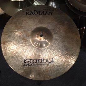 "Used Istanbul Mehmet 16"" Radiant Crash Cymbal"